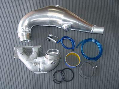 R&D Yam pipe for Kawi